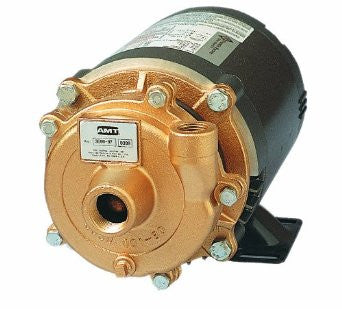 AMT 368C-97 Bronze 1/2 HP Small Straight Centrifugal Pump, 230/460 VAC