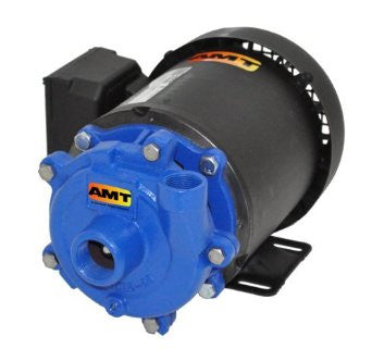 AMT 368C-95 Cast Iron 1/2 HP Small Straight Centrifugal Pump, 230/460 VAC