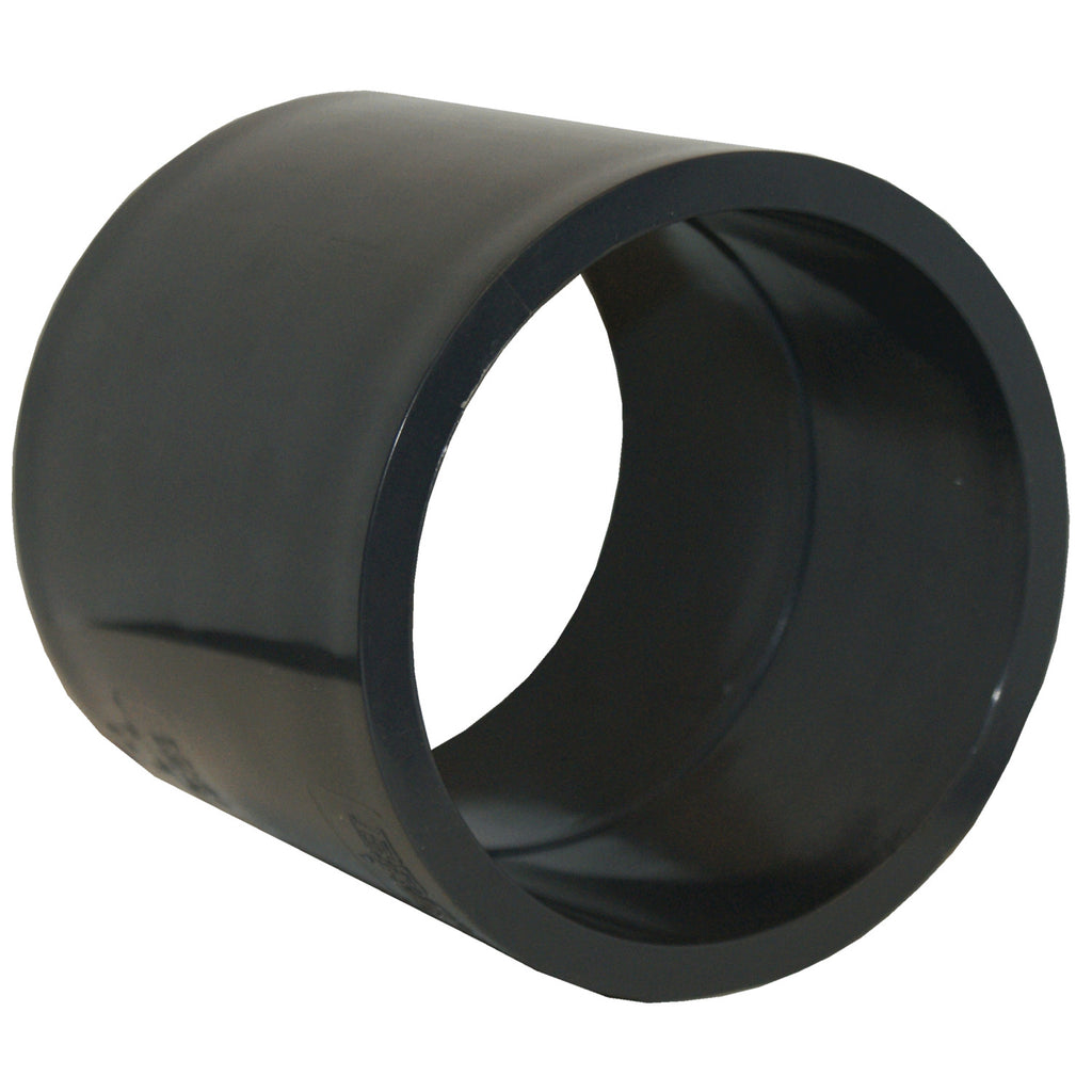 ERA Sch 80 PVC Straight Coupling, 1-1/4 Inch Socket x Socket