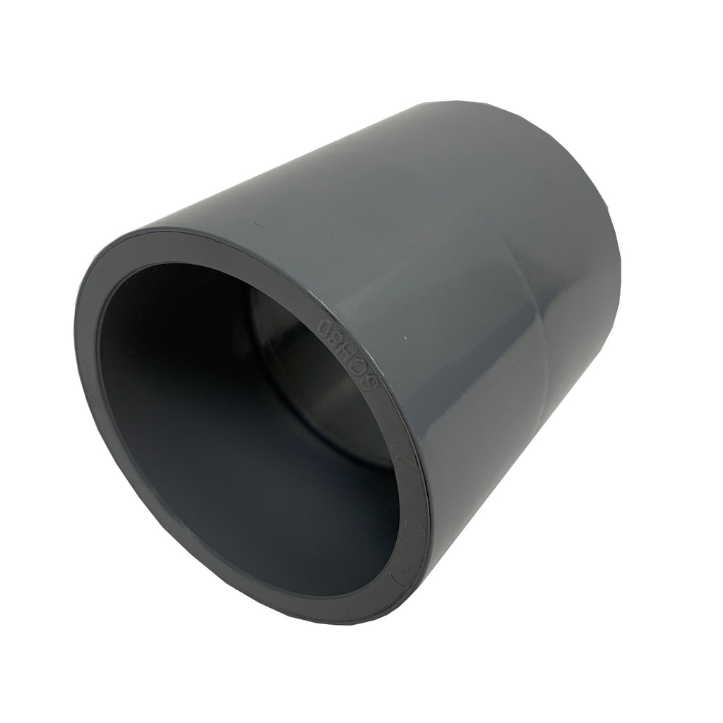 ERA Sch 80 CPVC Straight Coupling, 1 Inch Socket x Socket