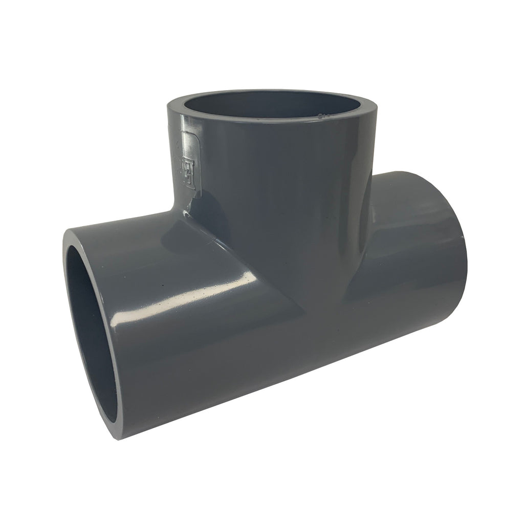 ERA SCH 80 CPVC STRAIGHT TEE - 2 INCH SOCKET CONNECT