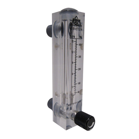 PRM AIR INJECTION/AIR SPARGE ROTAMETERS WITH INTEGRATED FLOW VALVE