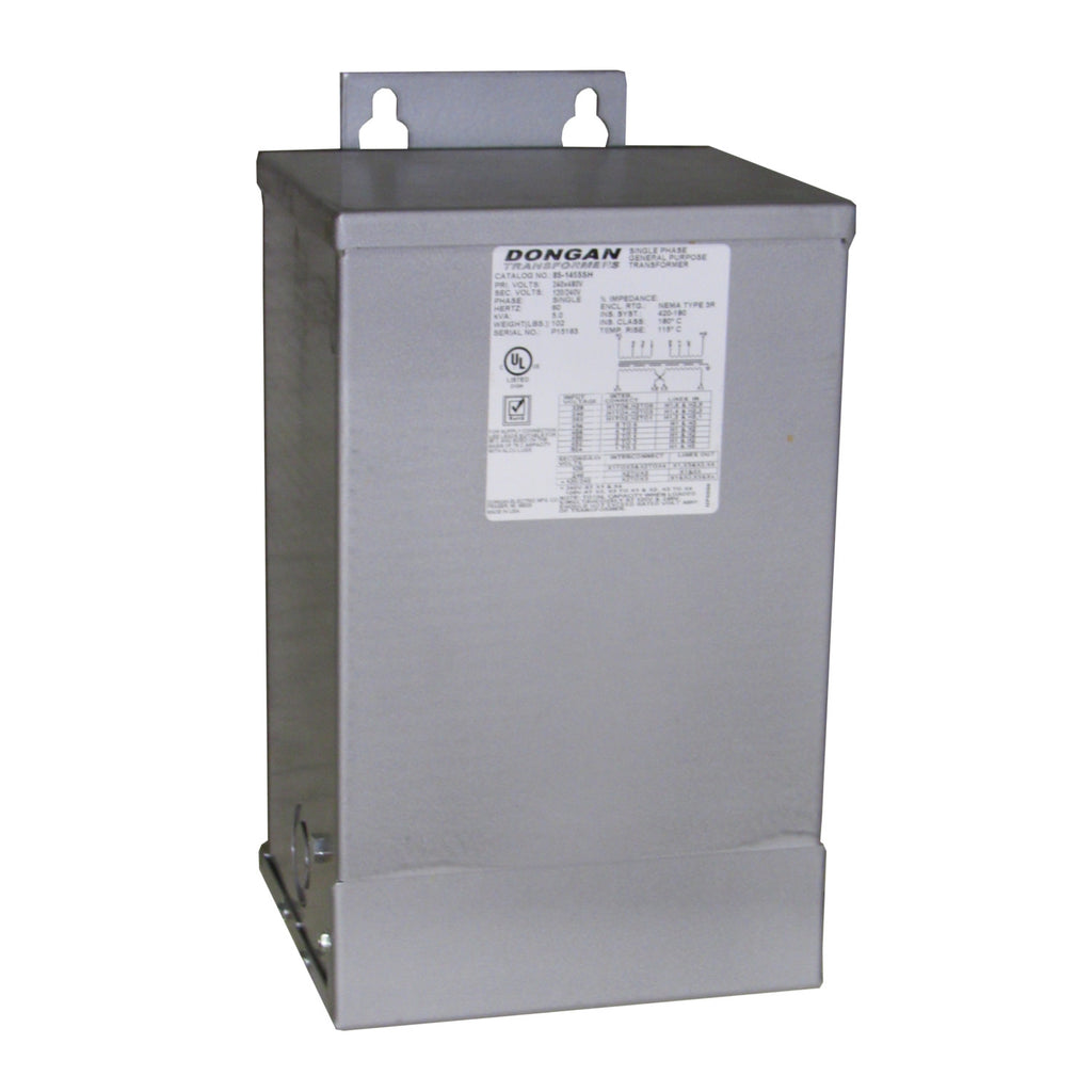 DONGAN 85-1455SH SINGLE PHASE GENERAL PURPOSE TRANSFORMER 5.0 KVA