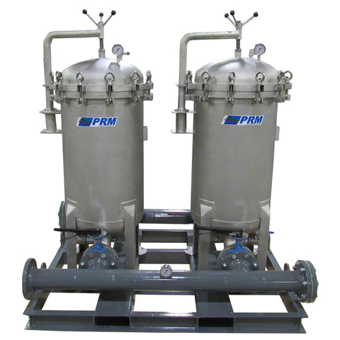 PRM #2 Size Multi-Bag Filter Housing Skid, 150 psi