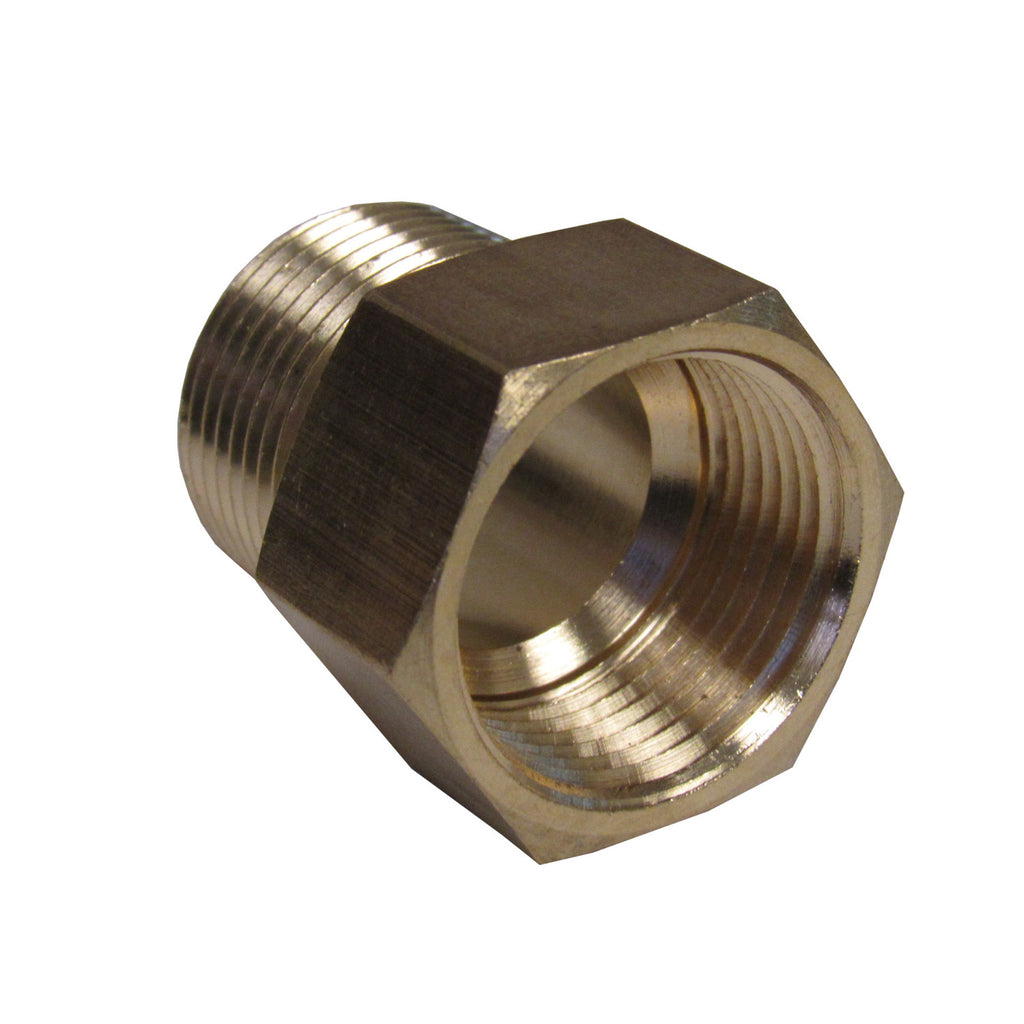 Brass Adapter - 1 Inch NPT Female X 1 Inch BSPP Male
