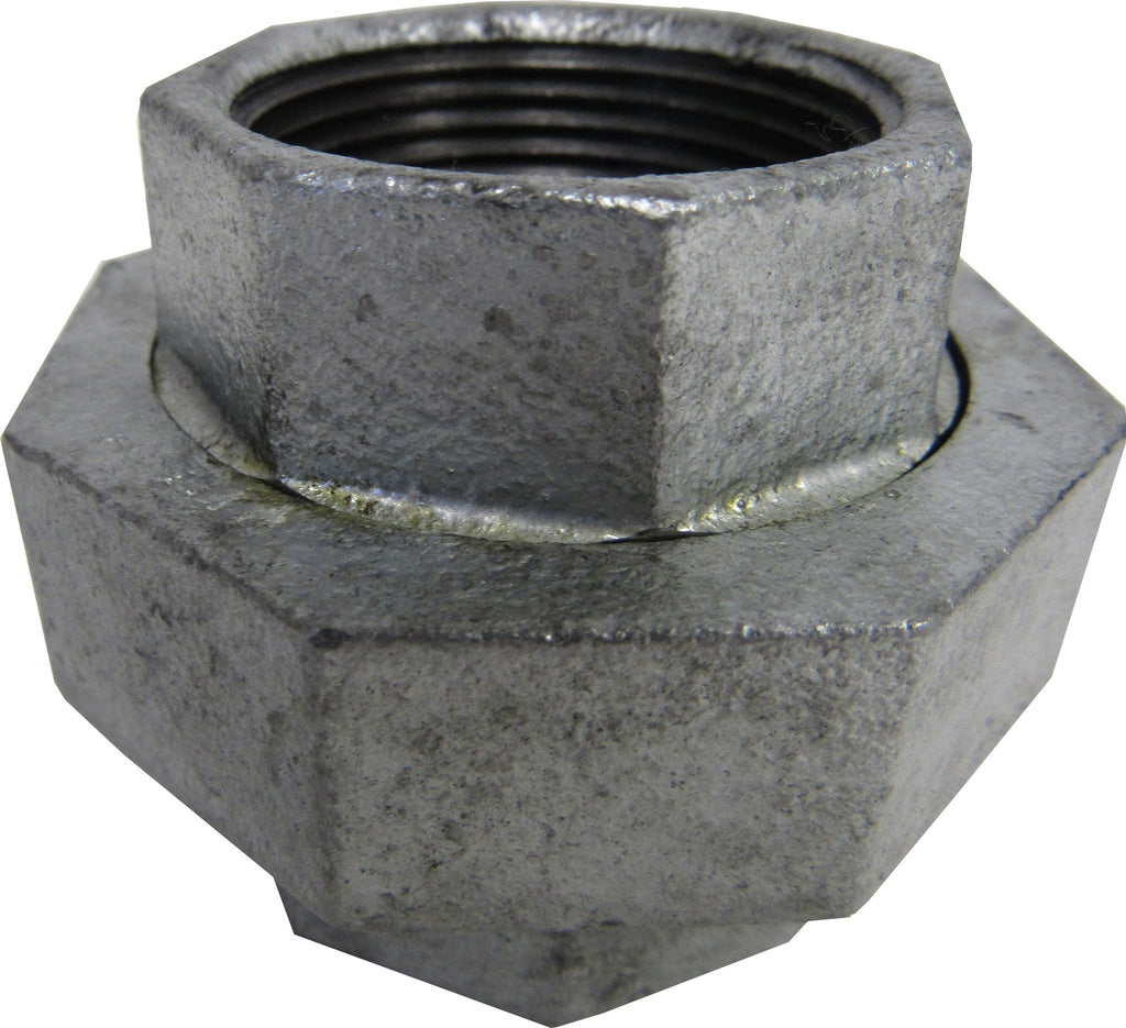 TSX Galvanized 2-1/2 Inch NPT Union