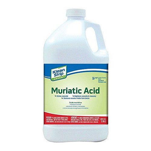 Klean Strip Green Safer Muriatic Acid - 1 Gallon