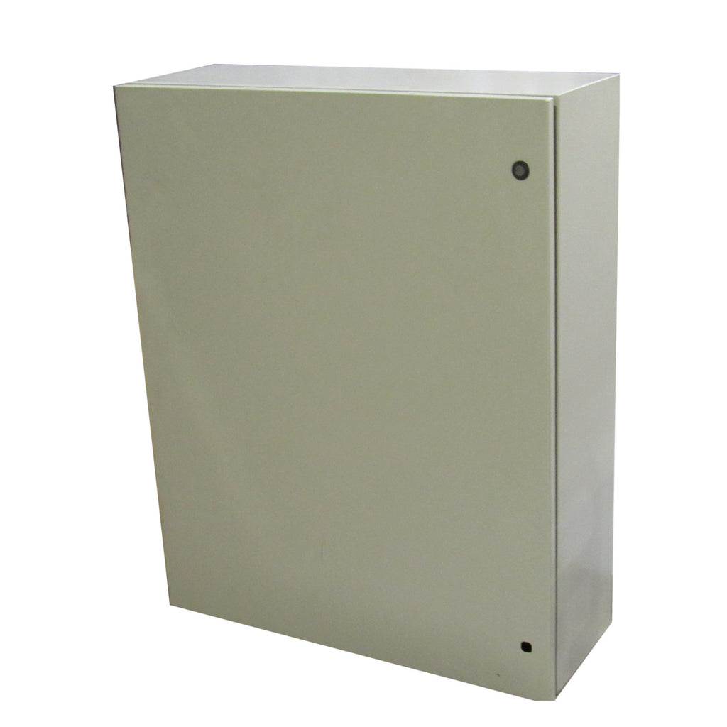 TECHNOMATIC CONTROL PANEL ENCLOSURE 40 X 32 X 12  DEAD FRONT AND BACK PLATE