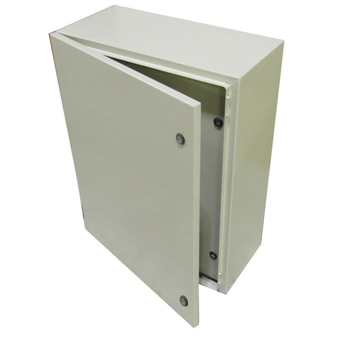 TECHNOMATIC CONTROL PANEL ENCLOSURE 32 X 24 X 12 WITH DEAD FRONT AND BACK PLATE