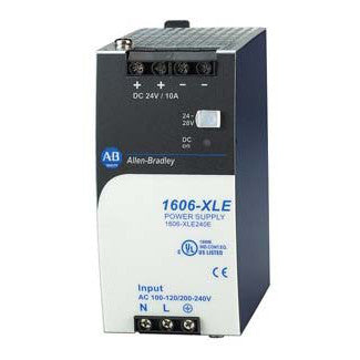 Allen-Bradley 1606-XLE240E Electrical Power Supply, 240 Watt, 24VDC, Max. Output 10A