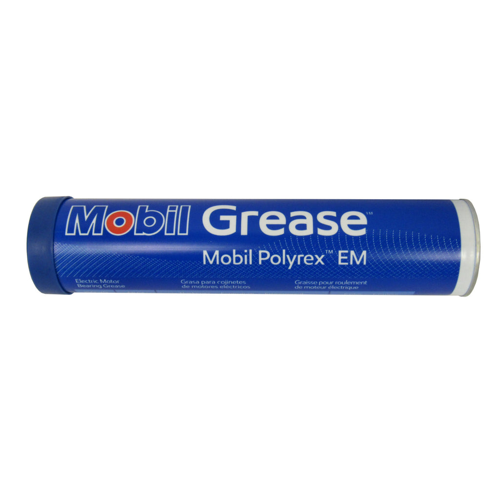 MOBIL POLYREX EM ELECTRIC MOTOR GREASE, 13.7 OZ. TUBE
