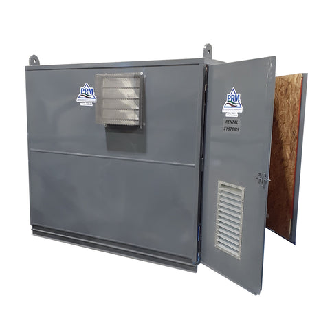 RT-6052 SVE/Air Sparge System, 10' x 15' Steel Frame Enclosure