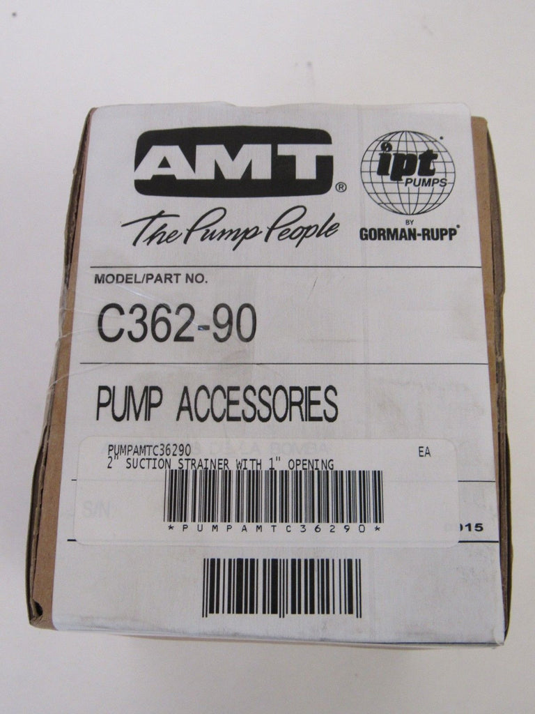 AMT C362-90 2 Inch FNPT Trash Suction Strainer with 1 Inch Openings