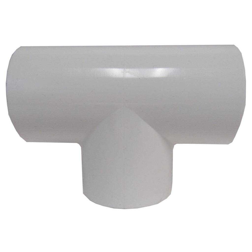 ERA Sch 40 PVC Straight Tee, 1/2 Inch Socket Connect