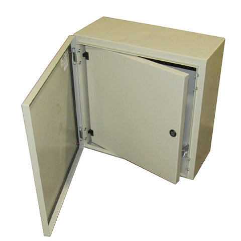 TECHNOMATIC CONTROL PANEL ENCLOSURE 20 X 20 X 8 WITH DEAD FRONT AND BACK PLATE