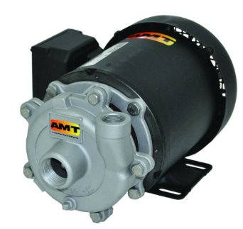 AMT 369A-98 Stainless Steel 1-1/2 HP Small Straight Centrifugal Pump, 115/230 VAC