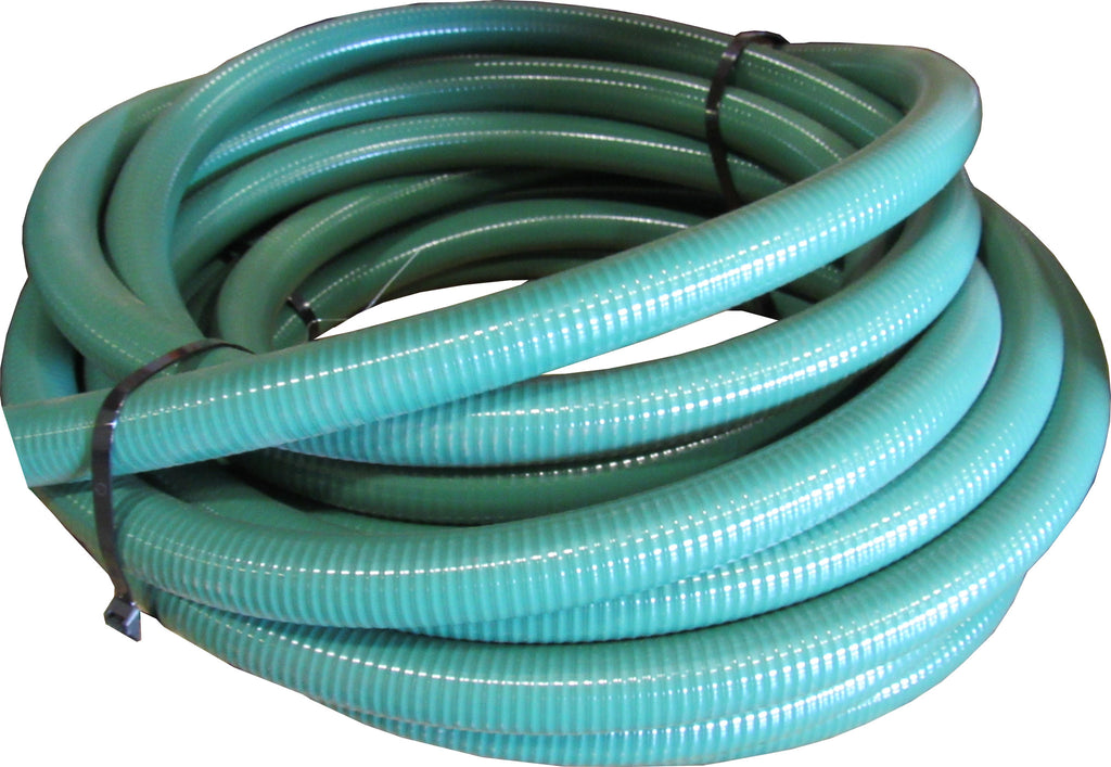 Kuriyama TigerFlex J Series PVC Suction Hose - 1-1/4 Inch