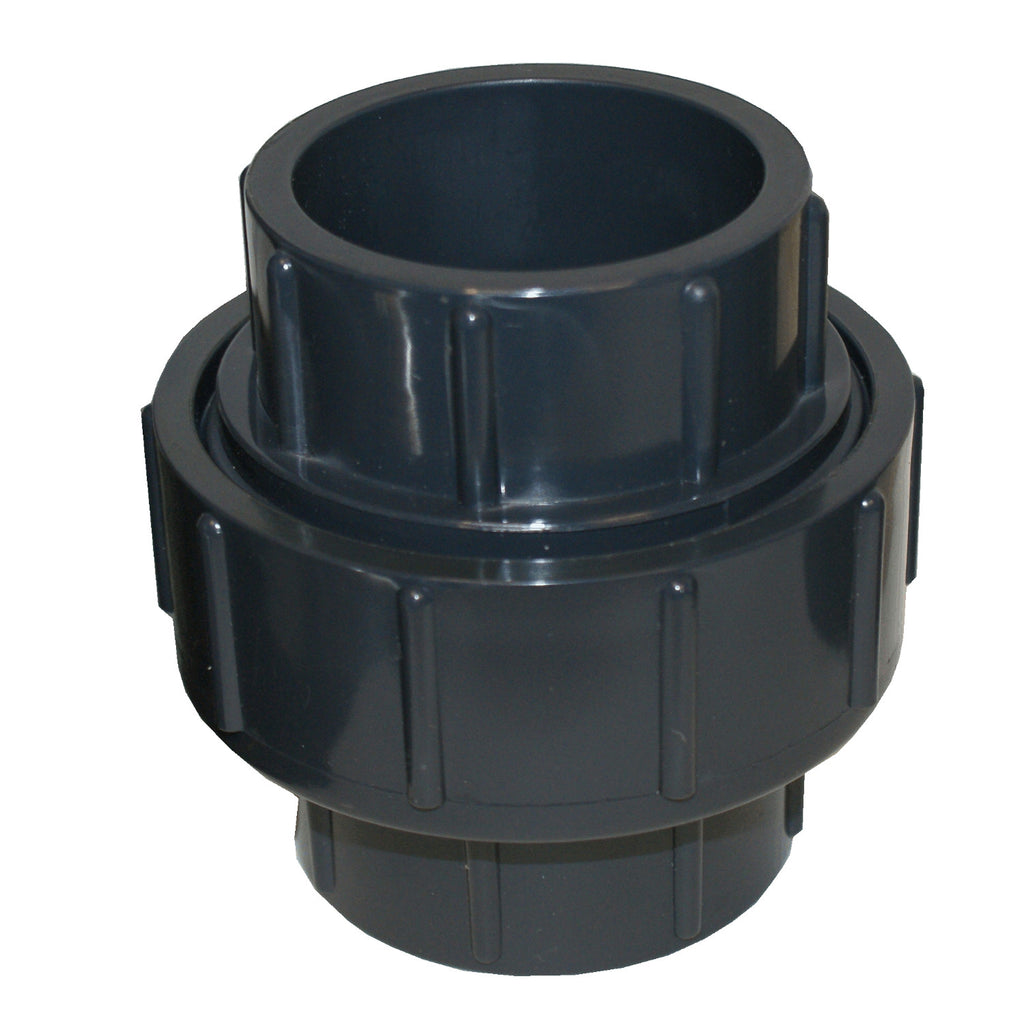 ERA Sch 80 PVC 1/2 Inch Union, Socket Connection