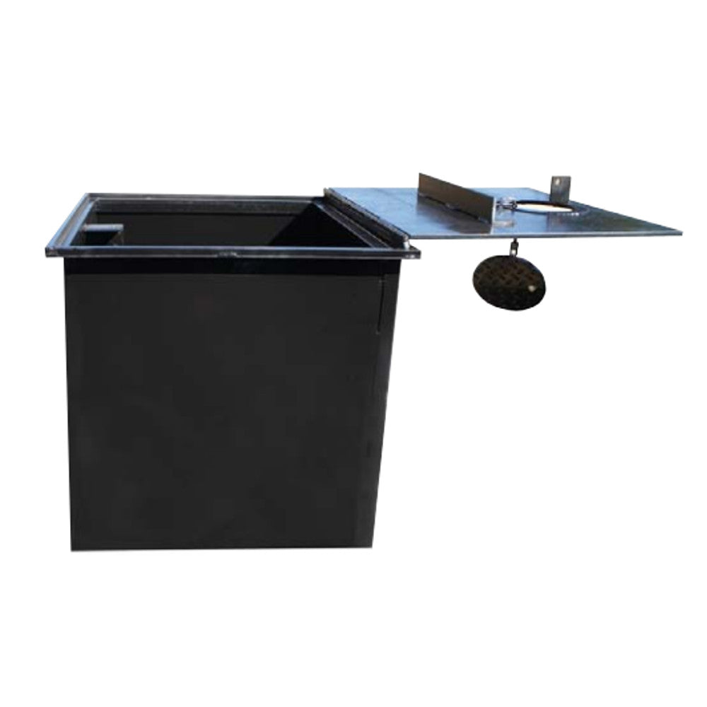 24 X 24 X 24 Inch Well Vault, Hinged, Locking Lid, Water Resistant
