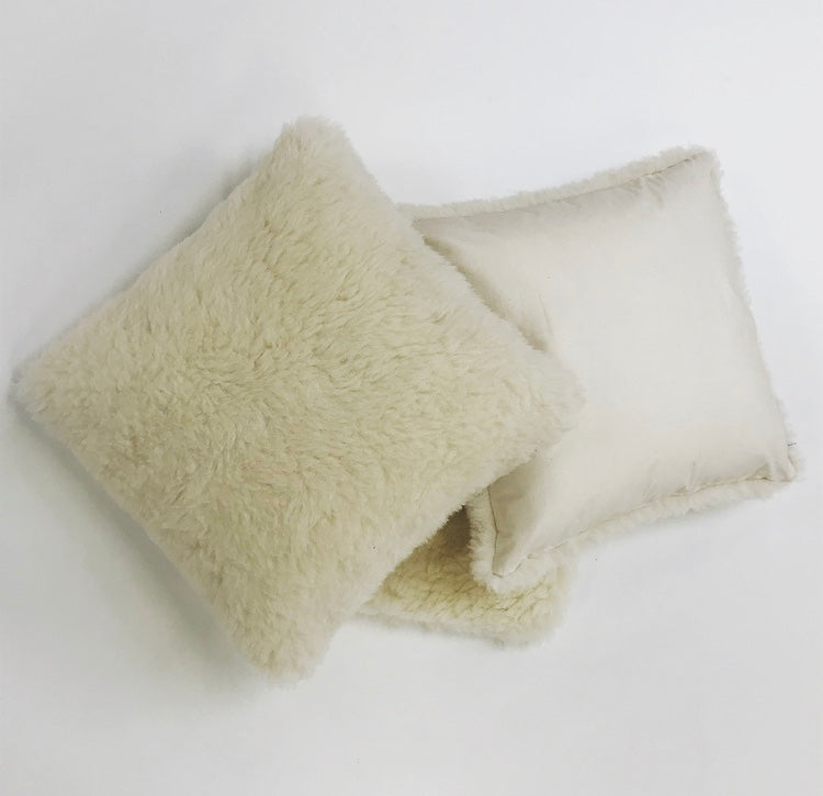 Natural Comfort - Luxury Single Sided Pure Wool Cushion Cover
