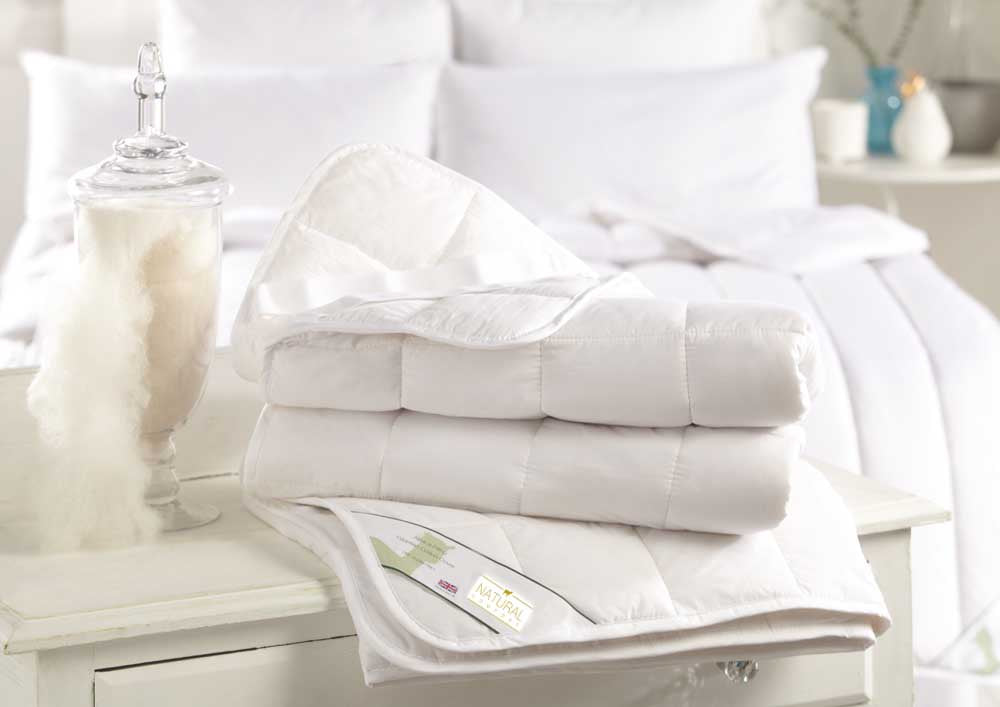 Natural Comfort Luxury King Size Wool Duvet