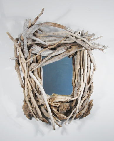 Driftwood Mirror/ Composition # 23