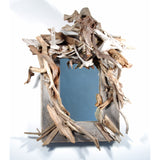 Antique Barn Board & Driftwood Mirror/ Composition # 25