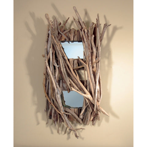 Driftwood Mirror/ Composition #28