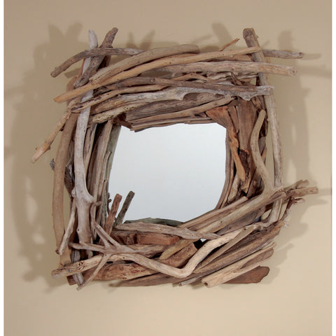 Driftwood Mirror/ Composition #29
