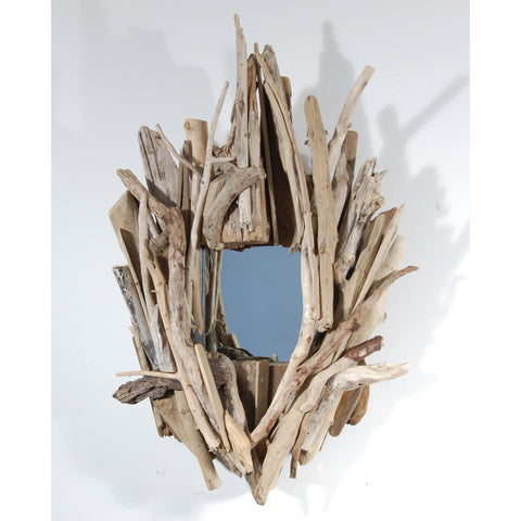 Driftwood Mirror/ Composition #31