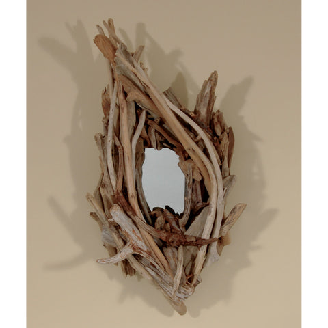 Driftwood Mirror/ Composition #32