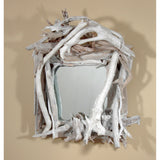 Whitewash Driftwood Mirror/ Composition # 38
