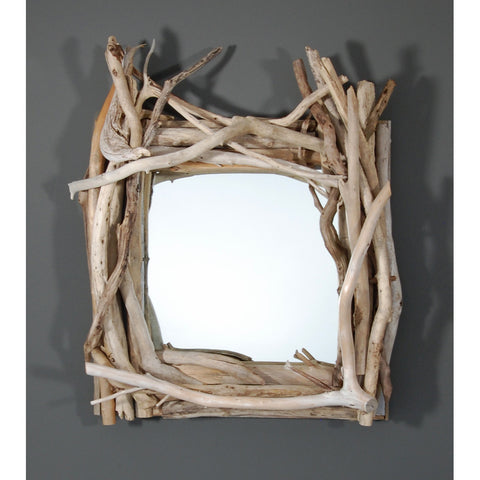 Driftwood Mirror/ Composition # 50