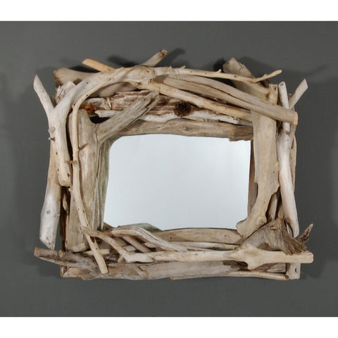 Driftwood Mirror/ Composition # 57