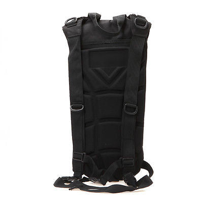 Black Everyday Carry Tactical Hydration Bag - Holds 3 Liters - Under Control Tactical - 6