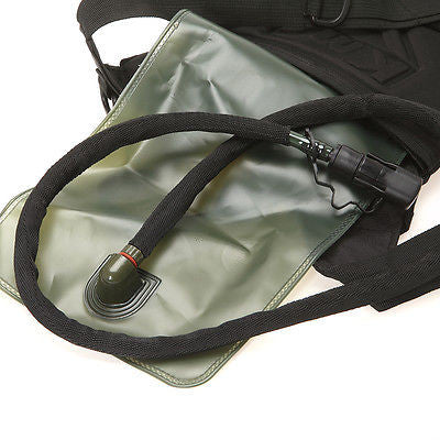 Black Everyday Carry Tactical Hydration Bag - Holds 3 Liters - Under Control Tactical - 3