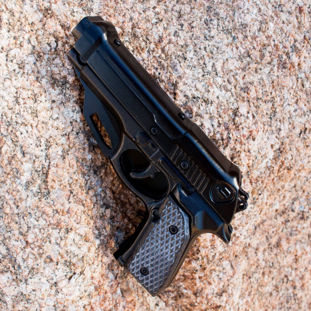 Black 1911 Pistol Knife for Gun Lovers - Under Control Tactical - 3