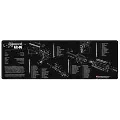 "AR-10 Gun Cleaning Mat - 12"" x 36"" Oversized Workarea"