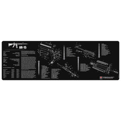 "AR-15 Gun Cleaning Mat - 12"" x 36"" Oversized Workarea"