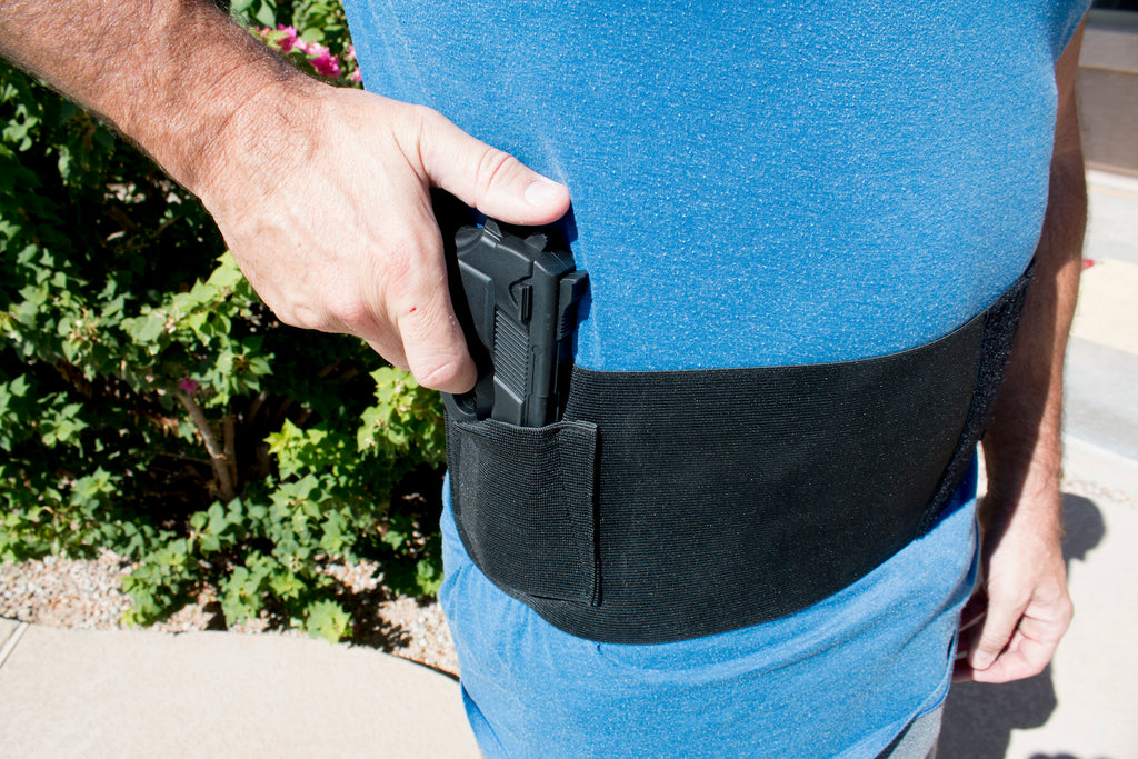 Best Belly Band Concealed Carry Gun Holster with Extra Mag Holders
