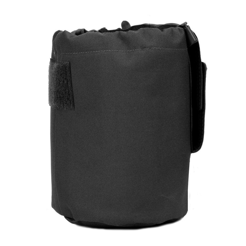 Large Collapsible Roll Up MOLLE Dump Pouch for Ammo, Brass, Magazines, Shells, and Misc Gear - Under Control Tactical - 4