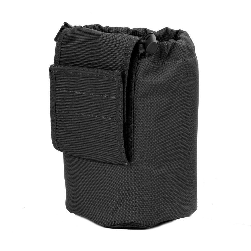 Large Collapsible Roll Up MOLLE Dump Pouch for Ammo, Brass, Magazines, Shells, and Misc Gear - Under Control Tactical - 2