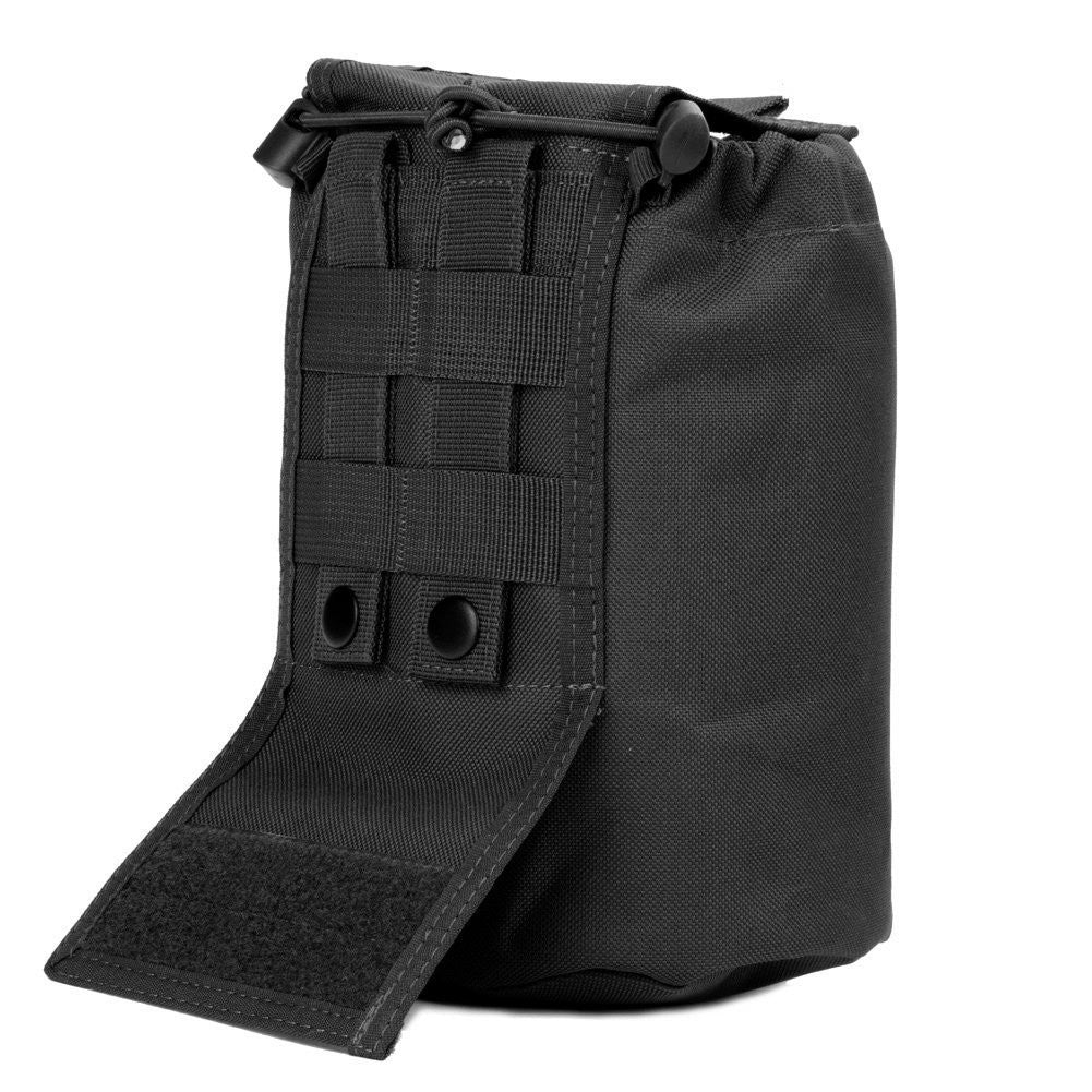 Large Collapsible Roll Up MOLLE Dump Pouch for Ammo, Brass, Magazines, Shells, and Misc Gear - Under Control Tactical - 3