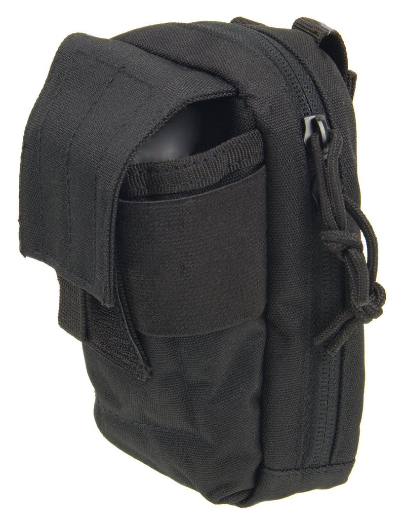 MOLLE Tech Pouch - Padded Multiple Pocket Media Pouch for Cameras, Phones, iPods and Other Electronics - Under Control Tactical - 2