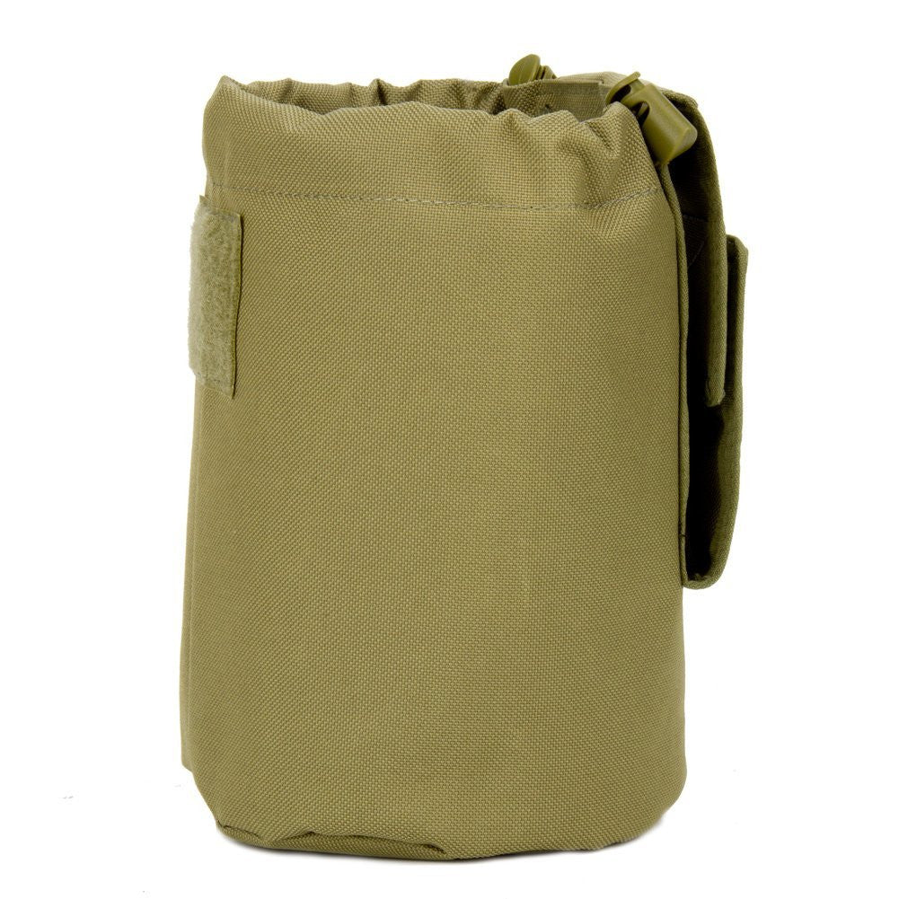 Large Collapsible Roll Up MOLLE Dump Pouch for Ammo, Brass, Magazines, Shells, and Misc Gear - Under Control Tactical - 9