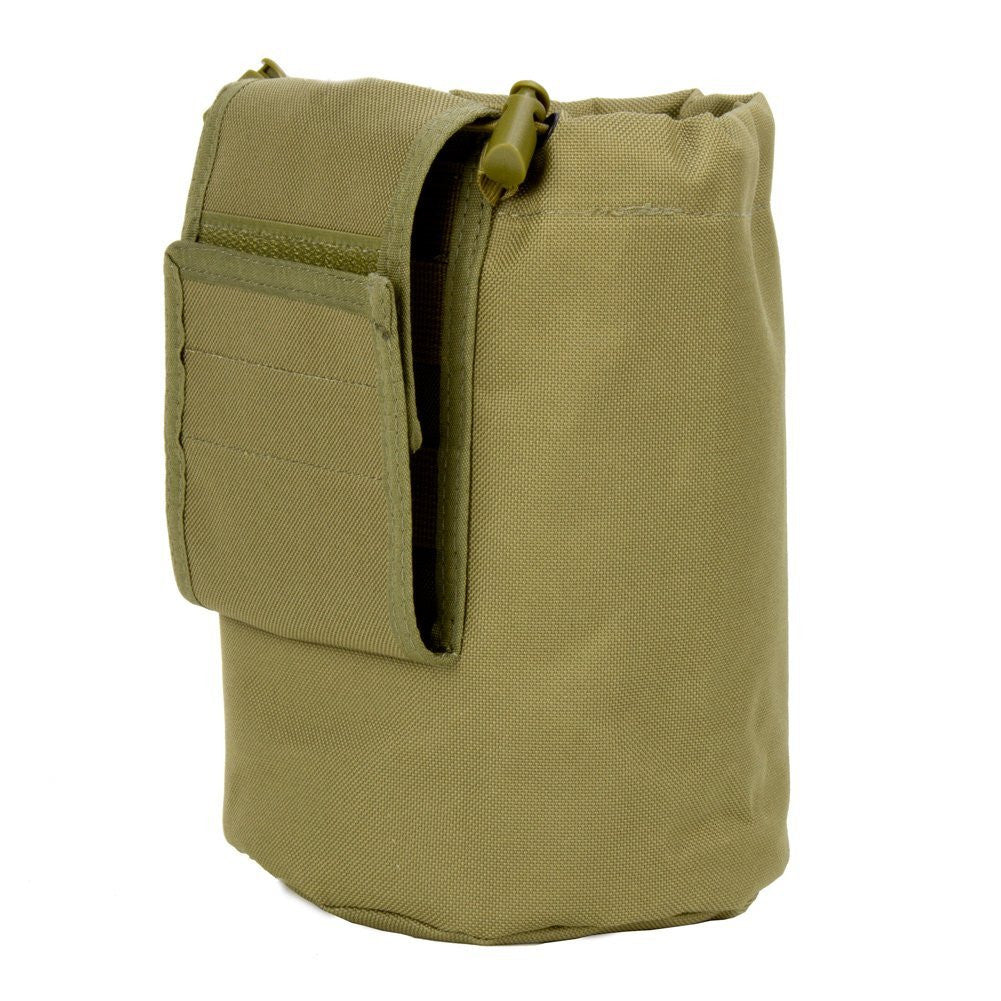 Large Collapsible Roll Up MOLLE Dump Pouch for Ammo, Brass, Magazines, Shells, and Misc Gear - Under Control Tactical - 5