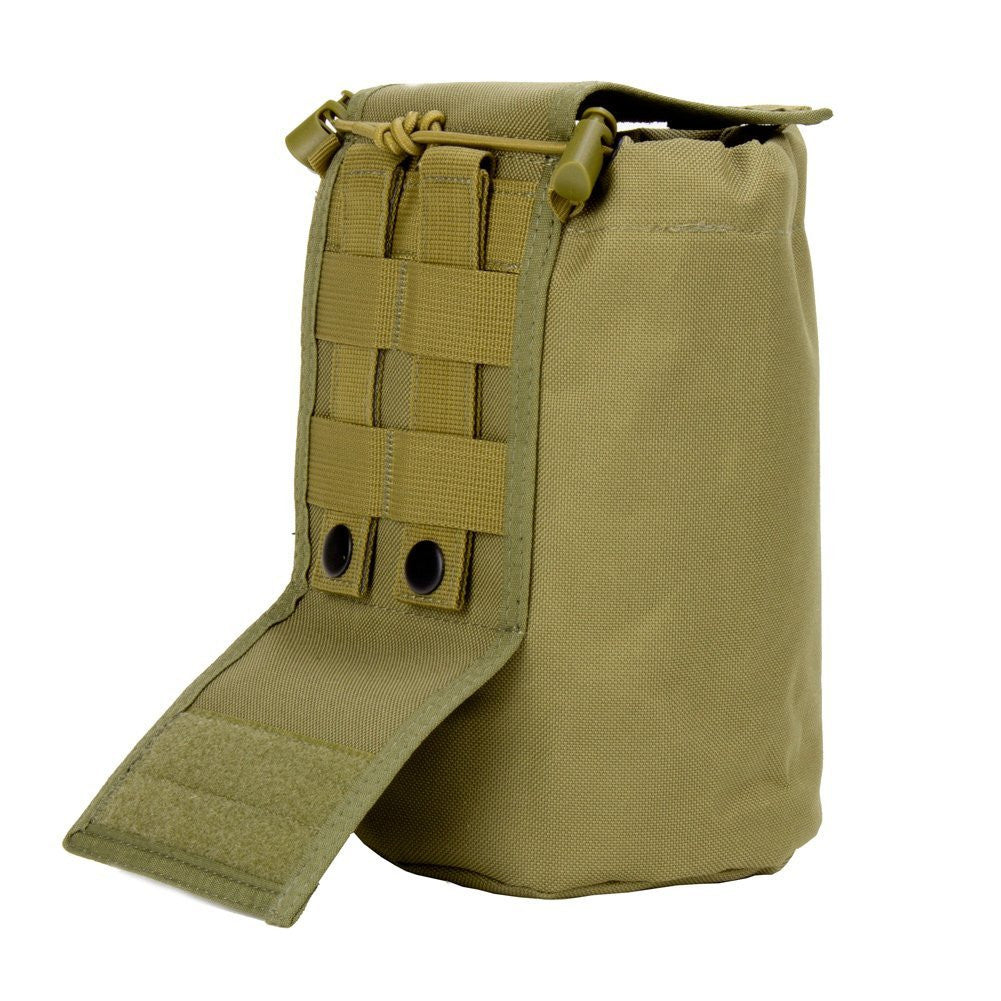 Large Collapsible Roll Up MOLLE Dump Pouch for Ammo, Brass, Magazines, Shells, and Misc Gear - Under Control Tactical - 6