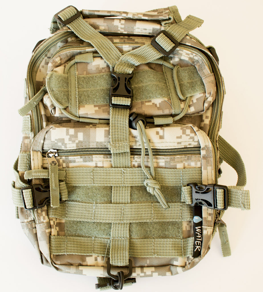Tactical Military Sling Backpack in Digital Camo - Under Control Tactical - 5