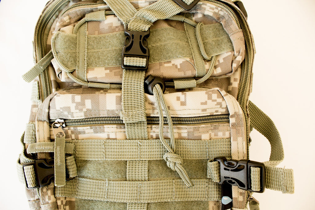 Tactical Military Sling Backpack in Digital Camo - Under Control Tactical - 6