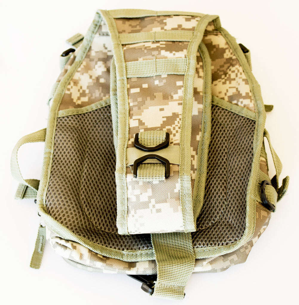 Tactical Military Sling Backpack in Digital Camo - Under Control Tactical - 7